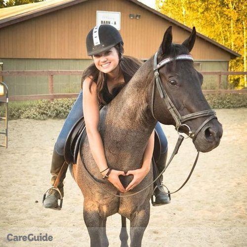 Pet Care Provider Madison E's Profile Picture