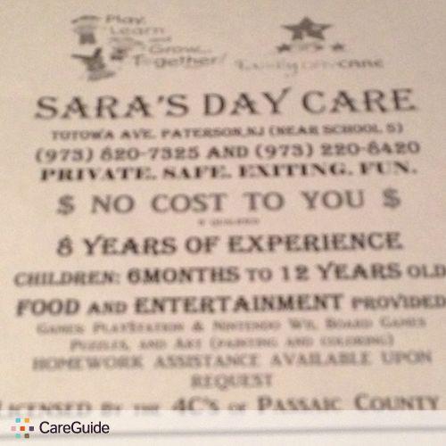 Child Care Provider Sayra M's Profile Picture