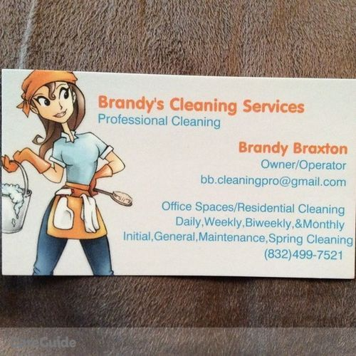 Housekeeper Provider Brandy B's Profile Picture