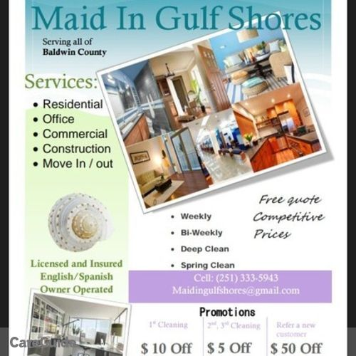 Housekeeper Provider Maid In Gulf Shores's Profile Picture