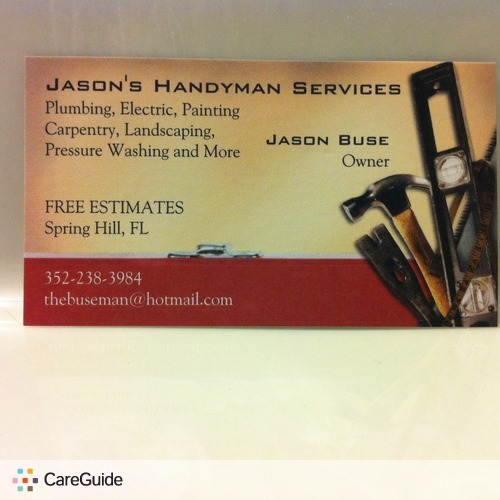 Handyman Provider Jason Buse's Profile Picture