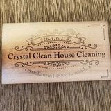 Crystal Clean House Cleaning. We actually LOVE to Clean.