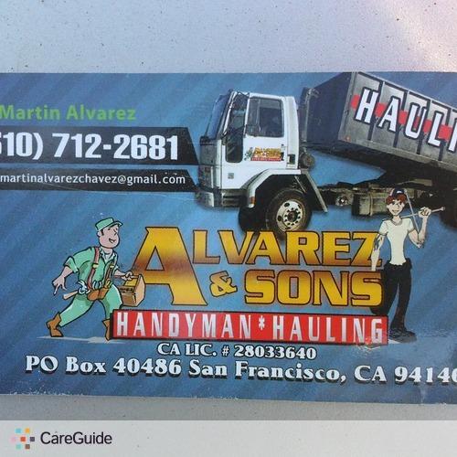 Handyman Provider Michael Alvarez's Profile Picture