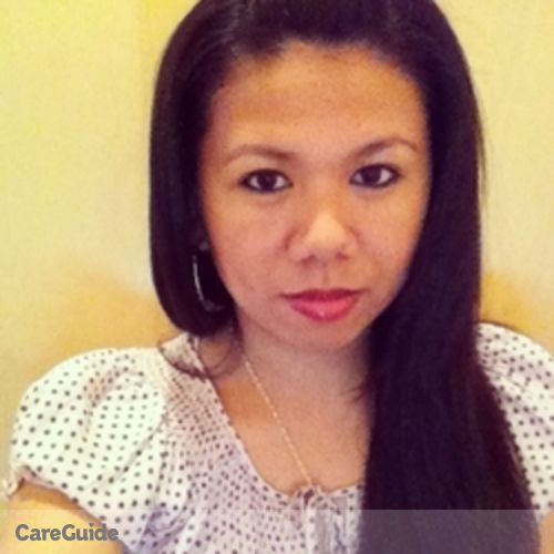 Canadian Nanny Provider Ammie lou Macabeo's Profile Picture