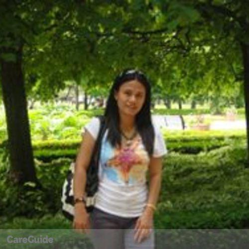 Canadian Nanny Provider Mirasol F's Profile Picture