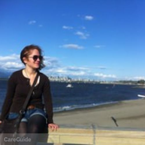 Canadian Nanny Provider Katharina Simon's Profile Picture