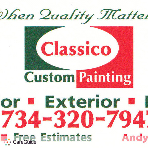 Painter Provider Andy R's Profile Picture