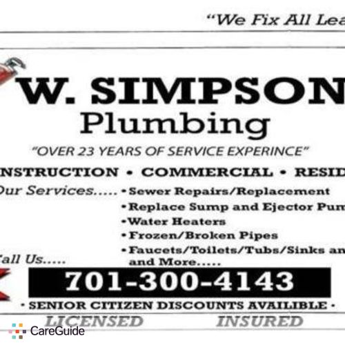 Plumber Job Walter Powell's Profile Picture