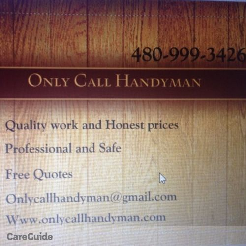 Handyman Provider Tonya J's Profile Picture