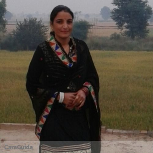 Canadian Nanny Provider Virpal Kaur's Profile Picture