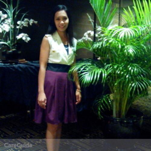 Canadian Nanny Provider Maria Morena C's Profile Picture