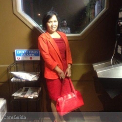 Canadian Nanny Provider Hospicia Maggay's Profile Picture