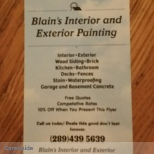 Painter Provider Crystal Hamelin's Profile Picture