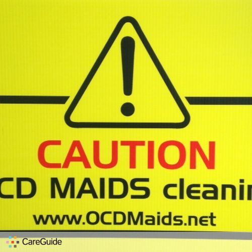 Housekeeper Provider OCD Maids 's Profile Picture