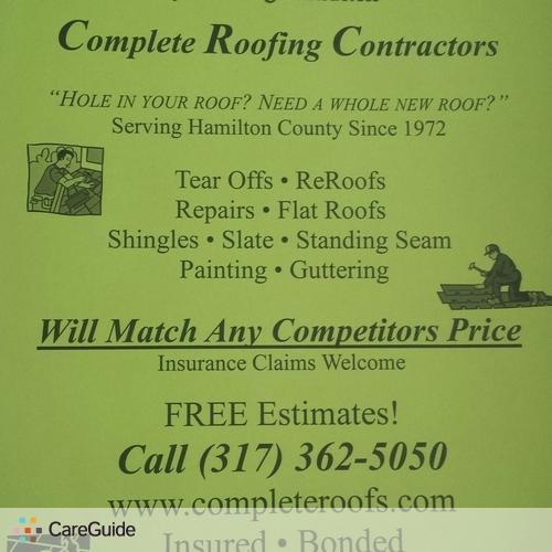 Roofer Provider Zach B's Profile Picture