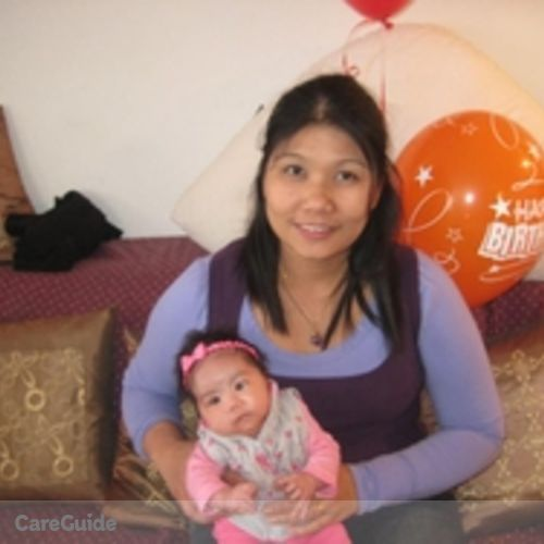 Canadian Nanny Provider Melly Cabrillos's Profile Picture