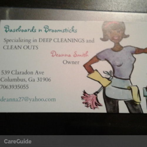 Housekeeper Provider Deanna Smith's Profile Picture