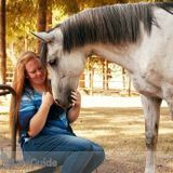 Budding photographer specializing in equine photography
