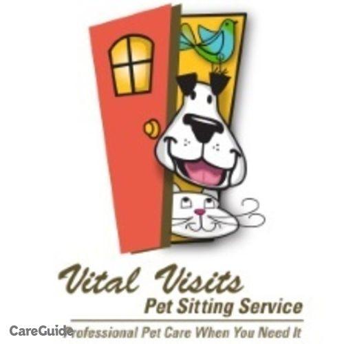 Pet Care Job Vital Visits Pet Sitting Service X's Profile Picture