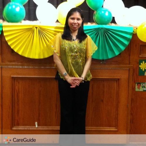 Child Care Provider Maria Theresa Bernadez's Profile Picture