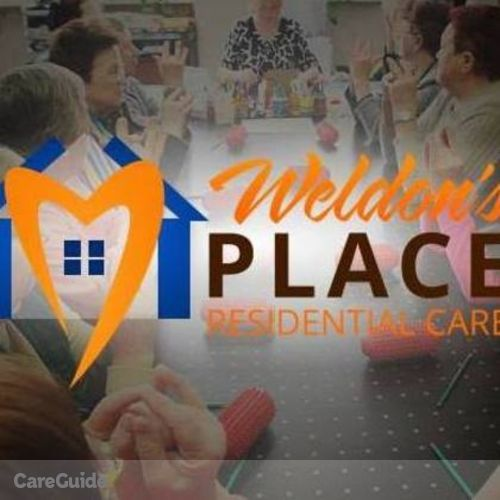 Elder Care Provider Weldon place Residential Homecare's Profile Picture