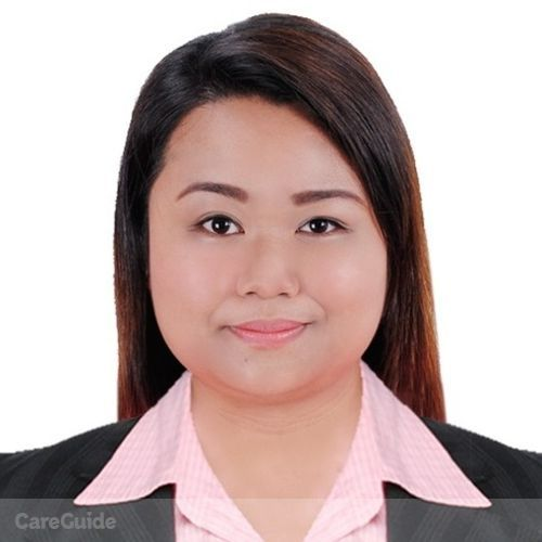 Canadian Nanny Provider Angelique M's Profile Picture