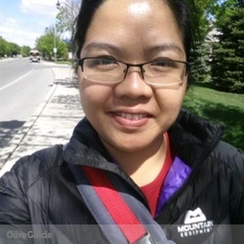 Canadian Nanny Provider Glenda Rosales's Profile Picture