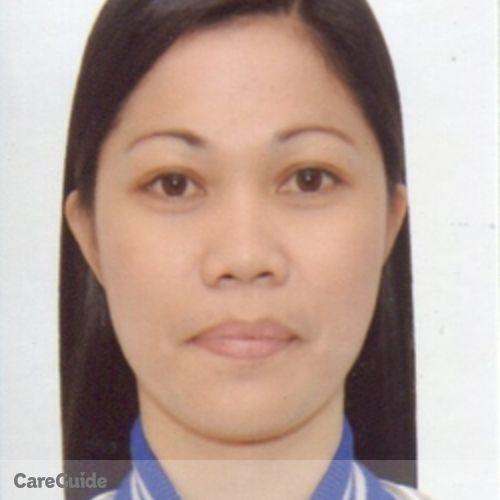 Canadian Nanny Provider Anna Liza Malaque's Profile Picture