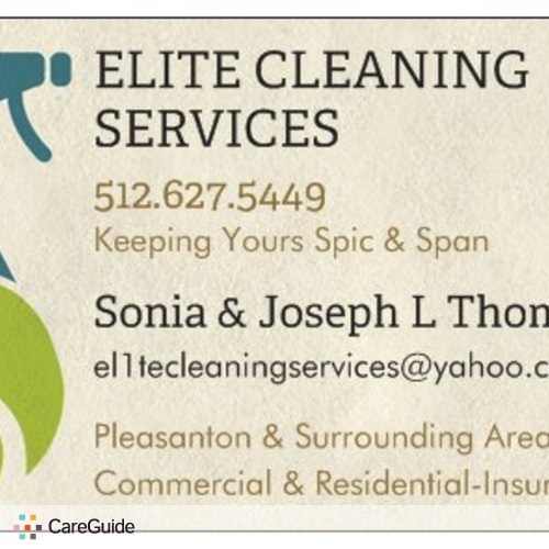 Housekeeper Provider Sonia G's Profile Picture