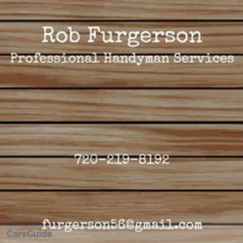 Handyman Provider Rob Furgerson's Profile Picture