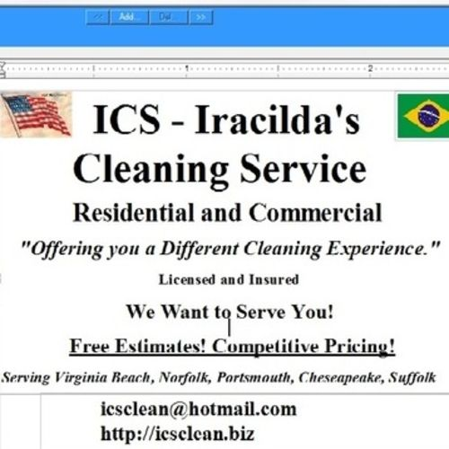 ICS Professional House Cleaning, Home Cleaning, Housekeeping ...