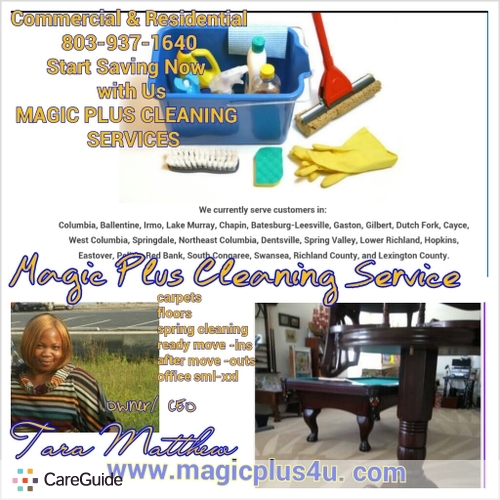 Housekeeper Provider MagicPlus Cleaning's Profile Picture