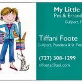 Tiffani Foote My Little Helper Pet & Errand Services