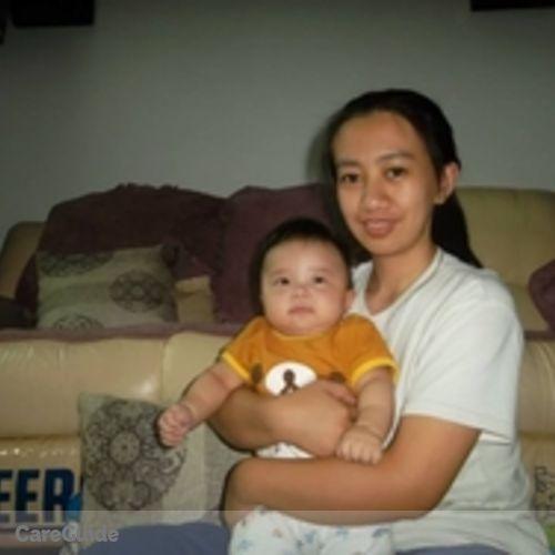 Canadian Nanny Provider Ria Grace Francisco's Profile Picture