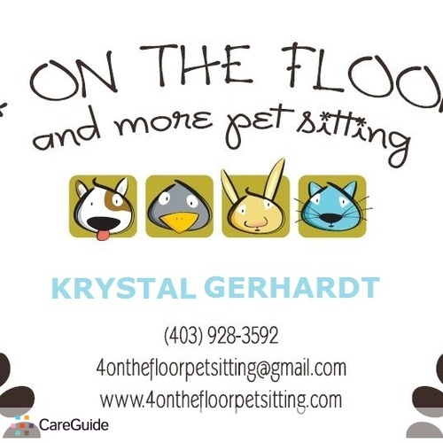 Pet Care Provider Krystal Gerhardt's Profile Picture
