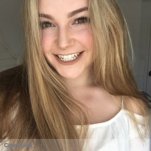 Canadian Nanny Provider Caitlyn K's Profile Picture