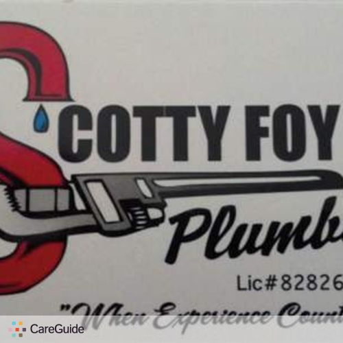 Plumber Provider Scotty Foy's Profile Picture