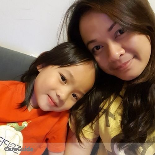 Canadian Nanny Provider Sharon Christine Chia's Profile Picture