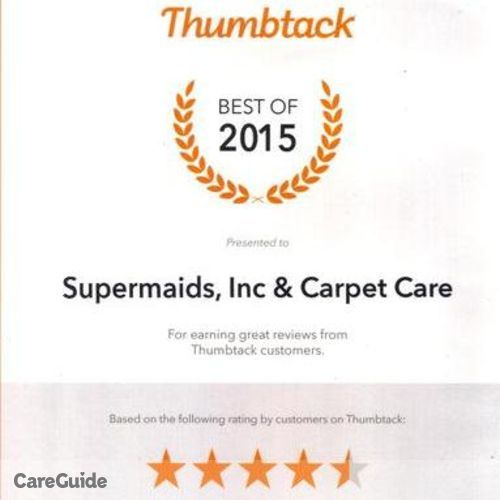 Housekeeper Provider Supermaids Inc & Carpet Care's Profile Picture