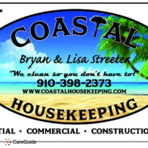 Housekeeper Provider Coastal Housekeeping's Profile Picture