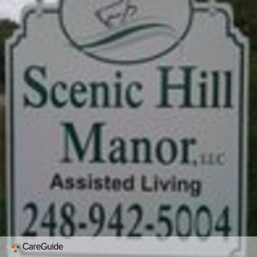 Elder Care Job Scenic HIll Manor's Profile Picture