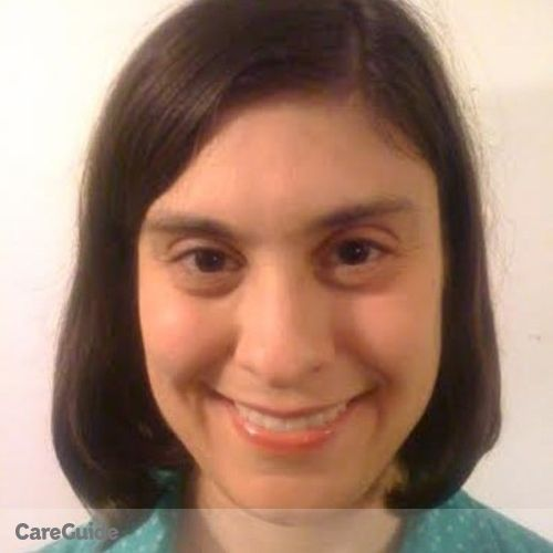 Canadian Nanny Provider Sarah Wert's Profile Picture