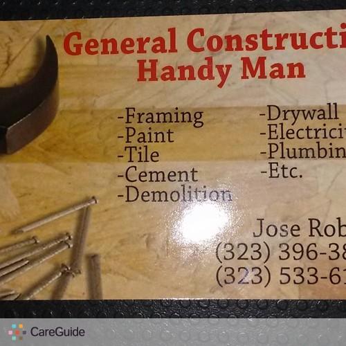 Handyman Provider Jose Robles's Profile Picture