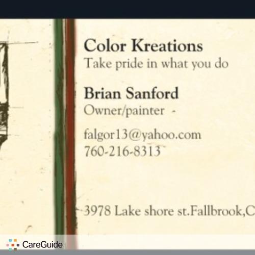 Painter Provider Brian Sanford's Profile Picture