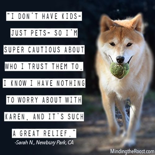 Pet Care Provider Karen Smith's Profile Picture