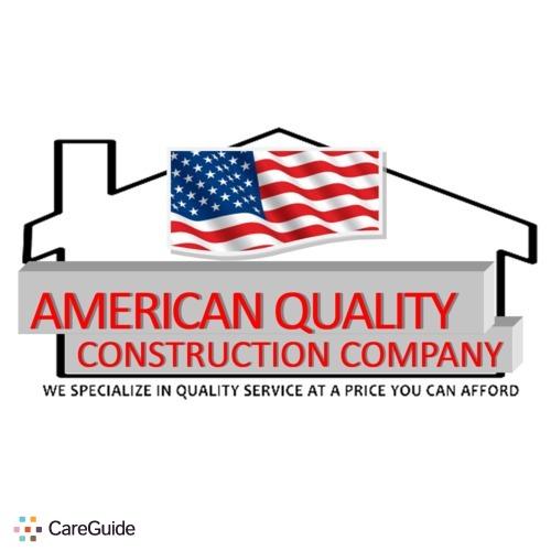 Handyman Provider American  Quality Construction Company's Profile Picture