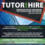 Experienced and Affordable Tutor