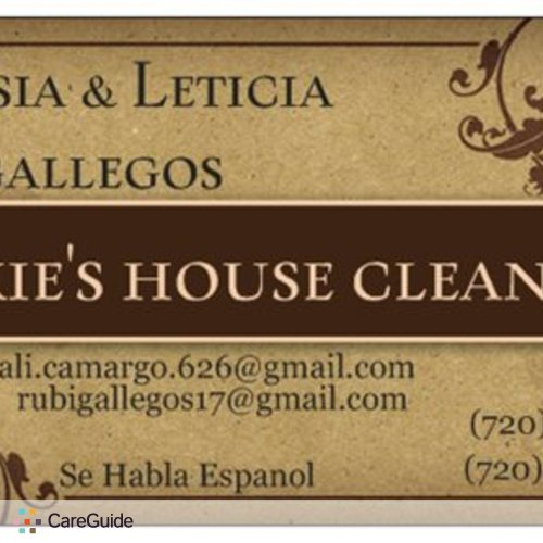 Housekeeper Provider GRESIA GALLEGOS's Profile Picture