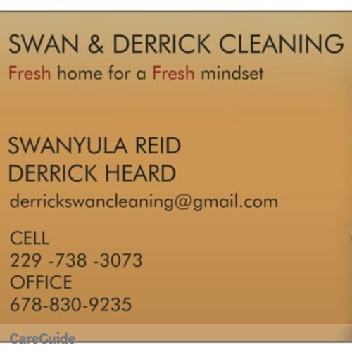 Housekeeper Provider Swan & Derrick Cleaning Service's Profile Picture