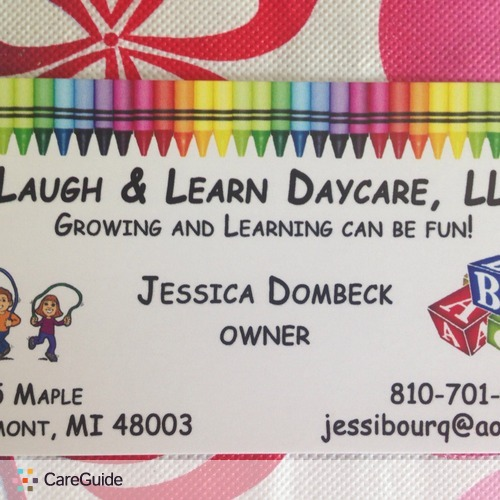 Child Care Provider Jessica Dombeck's Profile Picture